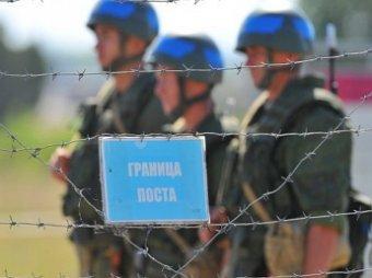 Границы России с Украиной огорожены колючей проволокой и скоро выроют рвы