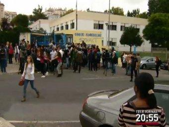 В Португалии школьник устроил резню в классе: ранены 5 человек