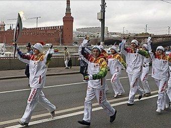 Олимпийский огонь погас дважды с момента старта эстафеты