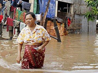 Наводнение убило 168 человек в Камбодже