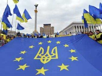 1,5 тыс. недовольных остановкой евроинтеграции украинцев заполнили Майдан