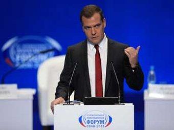 СМИ: Медведев получил ультиматум от инвесторов Олимпиады в Сочи
