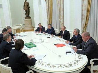"""Путин встретился с партменьшинствами: """"Конфликтов нет только на кладбище"""""""
