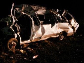 В Татарстане перевернулся автобус с детьми: есть жертвы