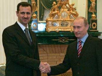 Путин впервые за два года поговорил с сирийским лидером Асадом