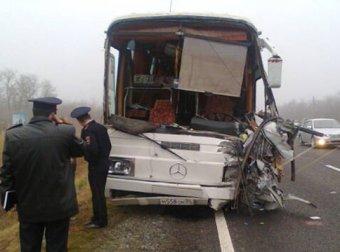 На Ставрополье в ДТП попал автобус с детьми: 4 погибших