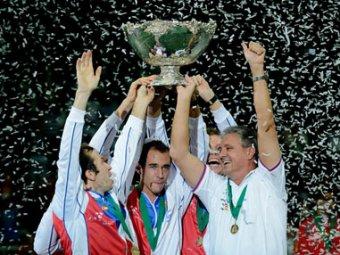 Сборная Чехии снова завоевала Кубок Дэвиса