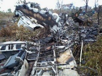 Пилот упавшего в Намибии самолета нарочно врезался в землю