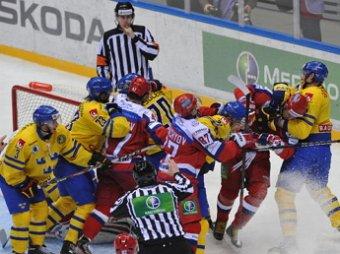 Сборная России по хоккею обыграла Швецию со счетом 3:2