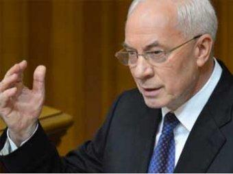 Премьер-министр Николай Азаров назвал Владимира Путина спасителем Украины