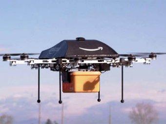 Amazon первым в мире будет доставлять заказы на беспилотниках