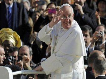 Папа Римский Франциск признан человеком года по версии журнала Time