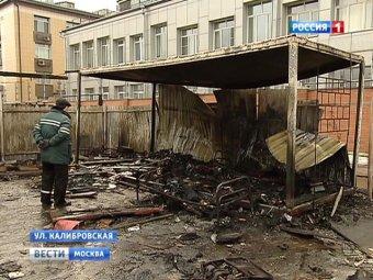 На северо-востоке Москвы пятеро строителей заживо сгорели в бытовках