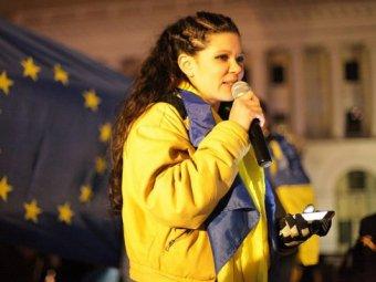 Певица Руслана заявила, что сожжёт себя на Майдане