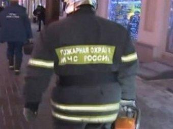 На севере Москвы произошло обрушение здания склада ФСКН