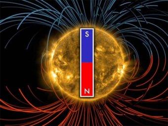 NASA обнародовало видео магнитного переворота на Солнце