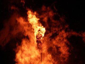 В Гватемале женщину заживо сожгли за долги