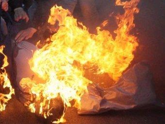 В Нижнем Новгороде мужчина сжёг себя на заправке