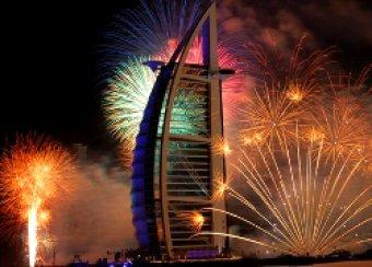 Новогодний фейерверк в Дубае занесен в Книгу рекордов Гиннеса