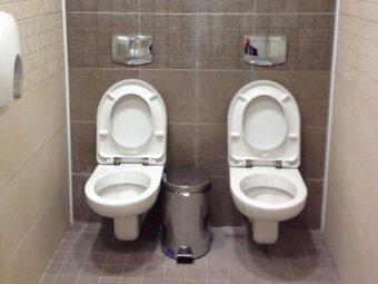 """В """"Газпроме"""" объяснили появление двух унитазов в одном туалете в Сочи"""
