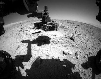 Curiosity заснял как НЛО взлетает с Марса