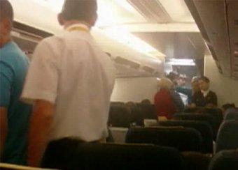 Супругов-дебоширов, летевших в Таиланд, высадили из самолета в Минводах