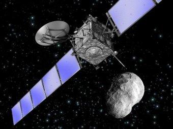 """Космический зонд """"Розетта"""" вышел из спящего режима"""