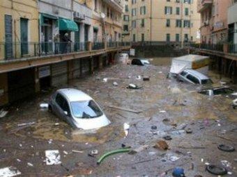 На юго-востоке Франции бушует наводнение