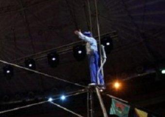 На шоу братьев Запашных акробат получил травму головы, упав с высоты