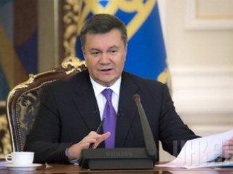 Янукович: «Только мирный путь, тяжкий труд  приведет нас к успеху»