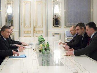 Янукович предложил Яценюку стать премьером, а Кличко - вице-премьером