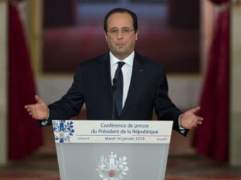 Французские СМИ узнали о беременности подруги Франсуа Олланда