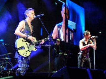 Depeche Mode отменили концерт в Киеве