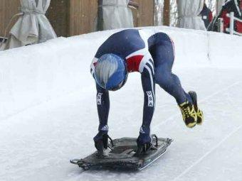 Скандал: российские скелетонисты не поделились разгонной эстакадой на Олимпиаде