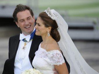 Шведская принцесса Мадлен родила девочку