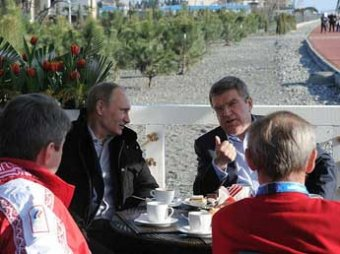Блогеры: в Сочи построили кафе для одного завтрака Путина