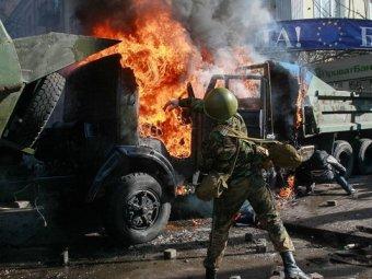 «Беркут» нашел на баррикадах доказательство проплаченности Майдана