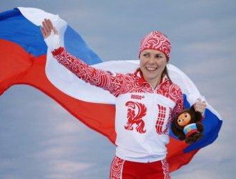 Конькобежка Граф принесла России первую медаль на Олимпиаде