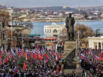 СМИ: Севастополь де-факто вышел из состава Украины (ВИДЕО)