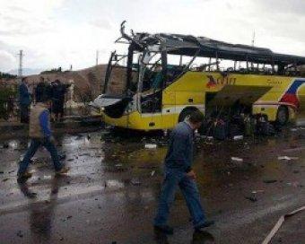 В Египте взорвали автобус с туристами: 5 погибших