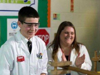 13-летний британский школьник построил ядерный реактор