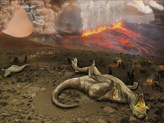 Ученые обвинили в вымирании динозавров темную материю