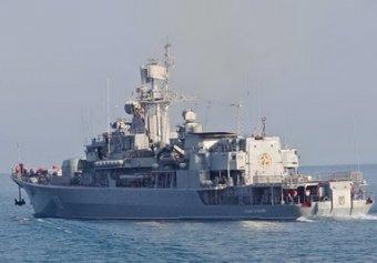 Украинский фрегат «Гетман Сагайдачный» перешёл на сторону России