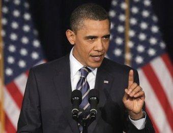 Обама исключил военное вмешательство США в ситуацию на Украине