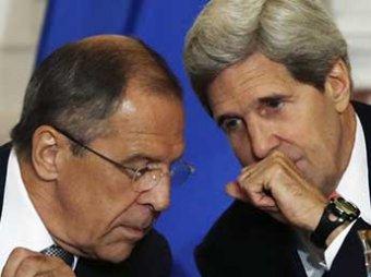 Госсекретарь США Керри обсудил с главой МИД России Лавровым ситуацию на Украине