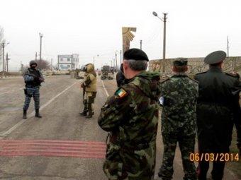 Миссию ОБСЕ не пустили в Крым, встретив выстрелами в воздух