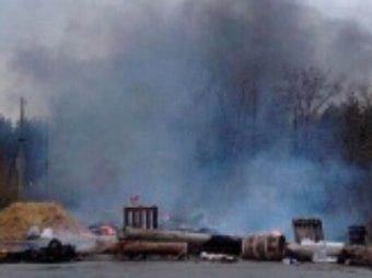 Обстрелян блокпост «народных ополченцев» Славянска