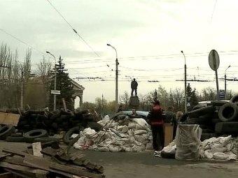В 50 км от Славянска начался штурм блокпоста ополченцев