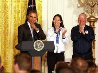 Американские спортсмены рассказали Обаме об Играх в Сочи