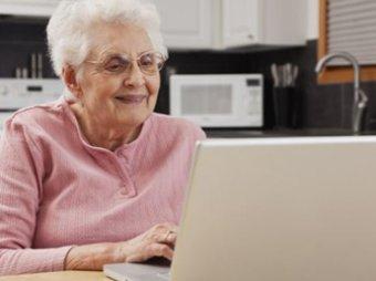 Ученые доказали, что Интернет спасает пожилых людей от депрессии